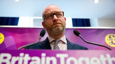 Paul Nuttall was due to visit Clacton today.