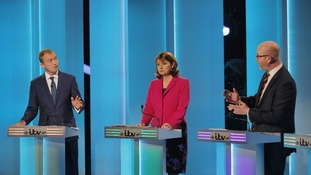 Paul Nuttall was involved in last night's ITV debate.