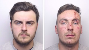 The driver Daniel Raynor and the passenger Matthew Todd were both jailed for nine years.