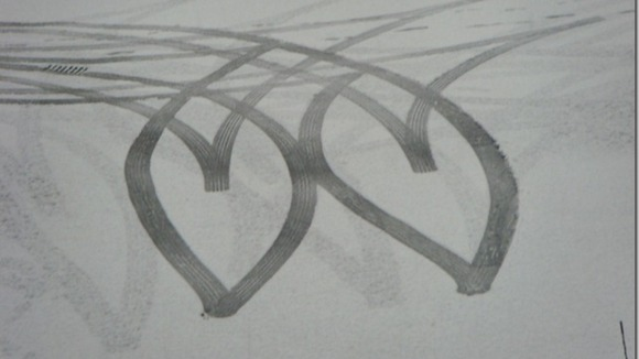 Snow hearts