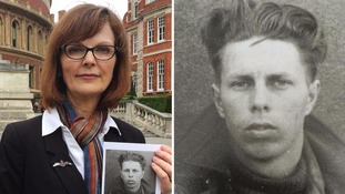 Daughter of Dambusters hero appeals for return of father's stolen logbook