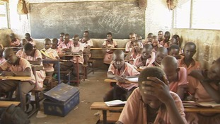 Teachers are concerned that children are not able to come to school amid the crisis.