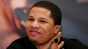 Gervonta Davis took three attempts to make the weight.