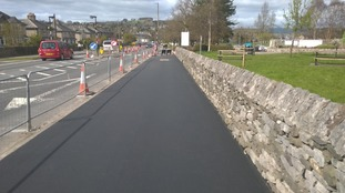 Phase 1 of Kendal's cycleway