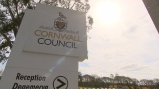 cornwall council sign