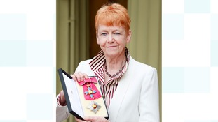 Vera Baird receives damehood at Buckingham Palace
