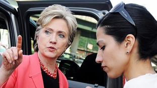 Ms Abedin was a former aide to Hillary Clinton.