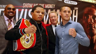 Gervonta Davis and Liam Walsh will go head-to-head on Saturday.