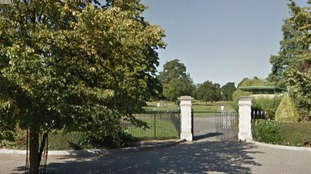 The body was found in Manor Park, Aldershot