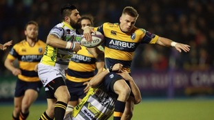 Cardiff Blues see champions cup hopes ended by Stade Francais