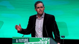 Green Party co-leader Jonathan Bartley will outline his party's policies for housing, education and work.