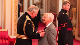 Alan Woodhouse from Wallasey is made an MBE (Member of the Order of the British Empire) by the Prince of Wales.
