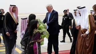 Donald Trump agrees $110bn US-Saudi arms deal during first foreign tour as president