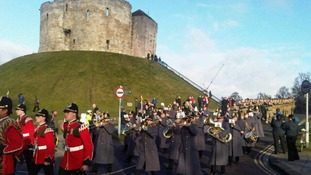 In pictures: 3 Yorks gather in York for homecoming parade