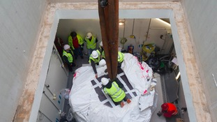 Britain's first high energy proton beam therapy machine arrives in Wales