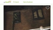 Mother and son 'lose everything in fire'