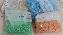 Library picture of illegal drugs
