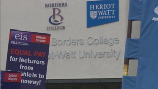 Scottish College strikes at an end