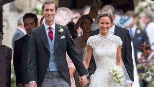 Cumbrian designs Pippa Middleton's wedding dress