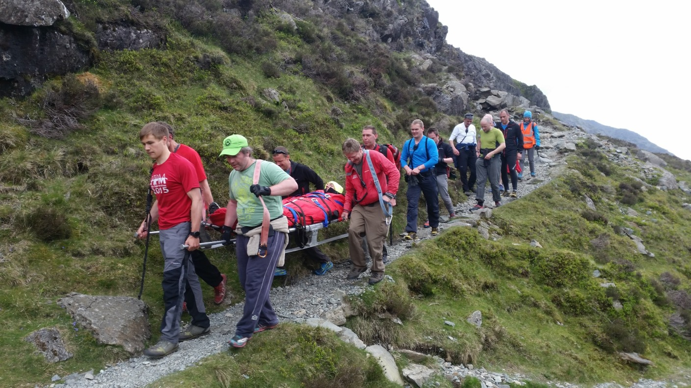 busy weekend for mountain rescue teams