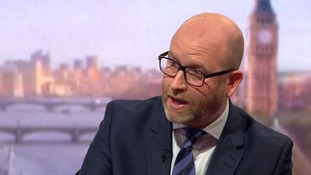 Paul Nuttall: Ukip to be 'guard dogs of Brexit' if Theresa May backslides on EU deal