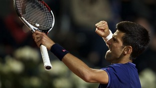 Novak Djokovic eases past Dominic Thiem on the clay to set up final with Alexander Zverev