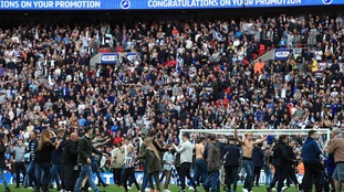 Wembley Stadium to investigate Millwall pitch invasion following play-off final win