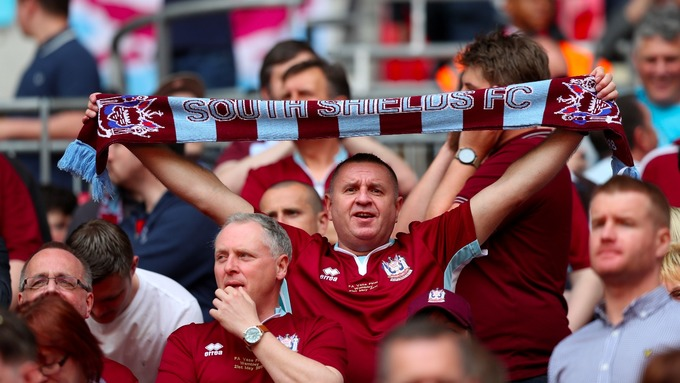 South Shields Win Fa Vase Final At Wembley Itv News