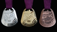 London 2017 medals unveiled