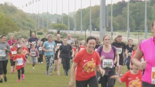 Thousands turn out for Children's Cancer Run at Newcastle Racecourse