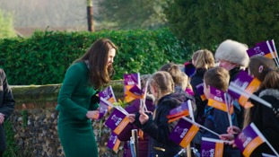 Duchess in special message praising children's hospices