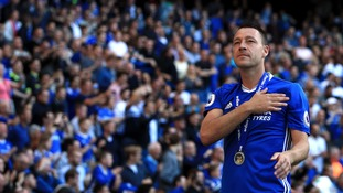 John Terry substitution in final league game for Chelsea sparks controversy