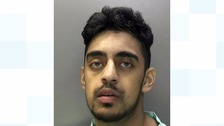 Teenager jailed after driving car at ex's new partner