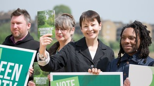 The Green manifesto, launched by co-leader Caroline Lucas, has pledged to scrap tuition fees.