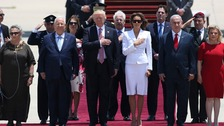Trump arrives in Israel in second stop of Middle East tour