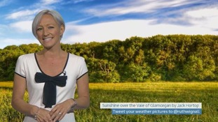Wales Weather: It's warming up!