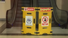 Girl, 11, fighting for her life after escalator fall