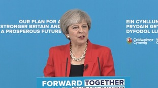 Mrs May 'clarified' her party's social care plan