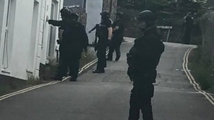 Police hunt for armed robbery suspect in Hayle