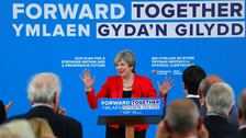 Tories u-turn on social care at Welsh manifesto launch