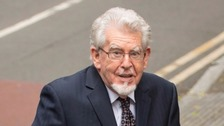 Rolf Harris appears in court charged with indecent assault