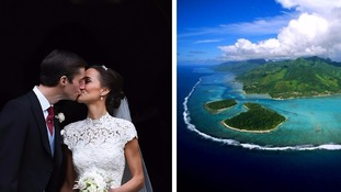 Paradise island where Pippa Middleton is on her honeymoon
