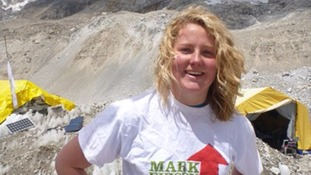 Briton, 26, praises necklace after record-breaking Mount Everest double climb