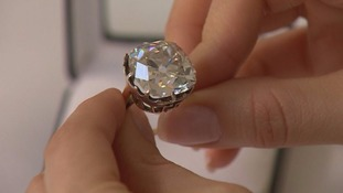 The diamond is expected to fetch a 'life-changing' sum at auction