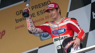 Hayden won the MotoGP World Championship in 2006.