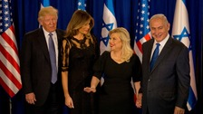 Mr Trump's visit to Israel is expected to be more symbolic than substantive