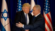 Netanyahu tells Trump he hopes alliance will 'grow ever-stronger'