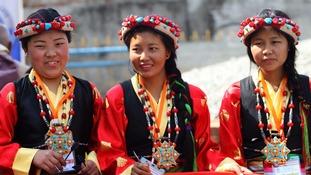 Sherpa women.