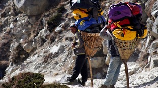 Sherpas have lived in the Himalayas for thousands of years.