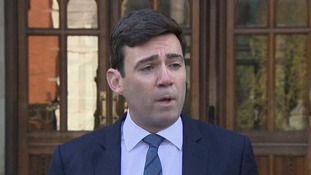 Andy Burnham said Manchester was waking up to the 'most difficult of dawns' after its 'darkest night'.